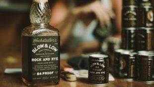 Meet the First Whiskey Cocktail in a Can, Debuted from Slow & Low