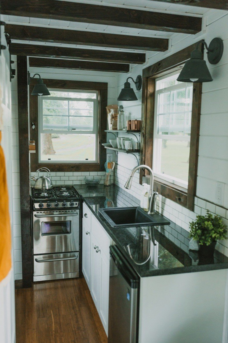 Wide Open Eats & 10 Tiny Kitchens in Tiny Houses That Are Adorably Functional