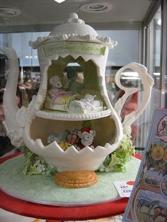 Teapot Gingerbread House