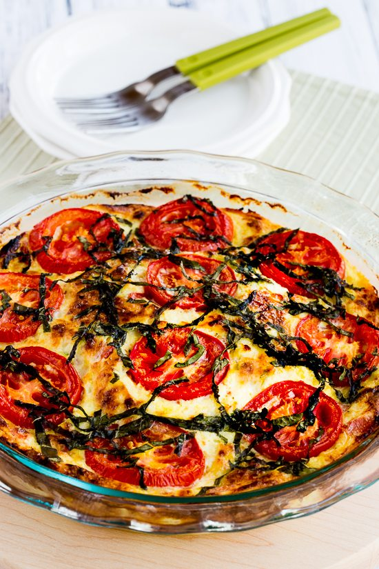 crustless-tomato-quiche