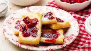 Cherry Cream Cheese Danish