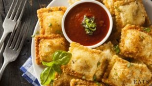 St. Louis Toasted Ravioli