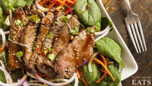 Flank Steak Salad with Thai Dressing