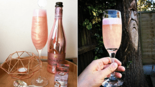 Hack Your Prosecco with This Breathtaking Raspberry Edible Glitter