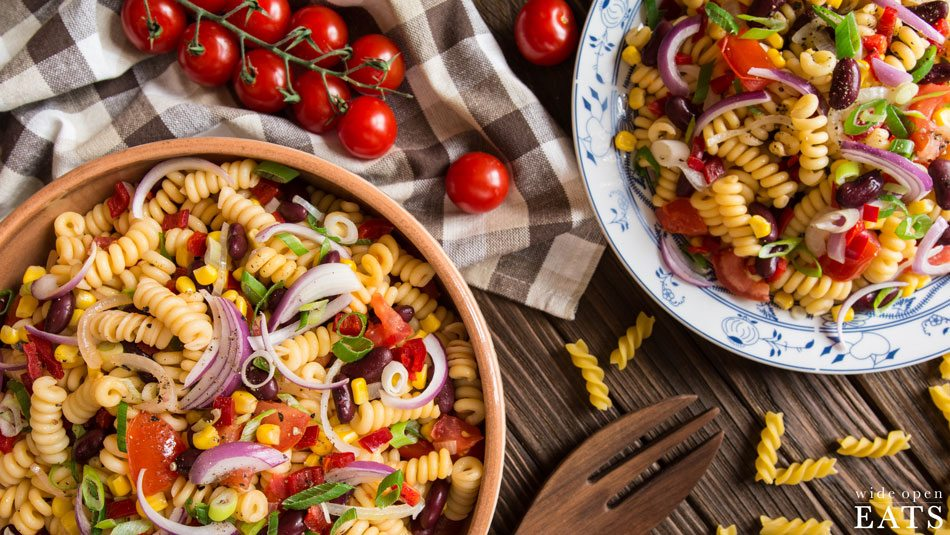 Zesty-Black-Bean-Pasta-Salad