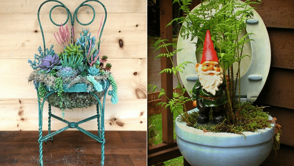 15 Rustic Upcycled Garden Planters To Spruce Up Your Yard