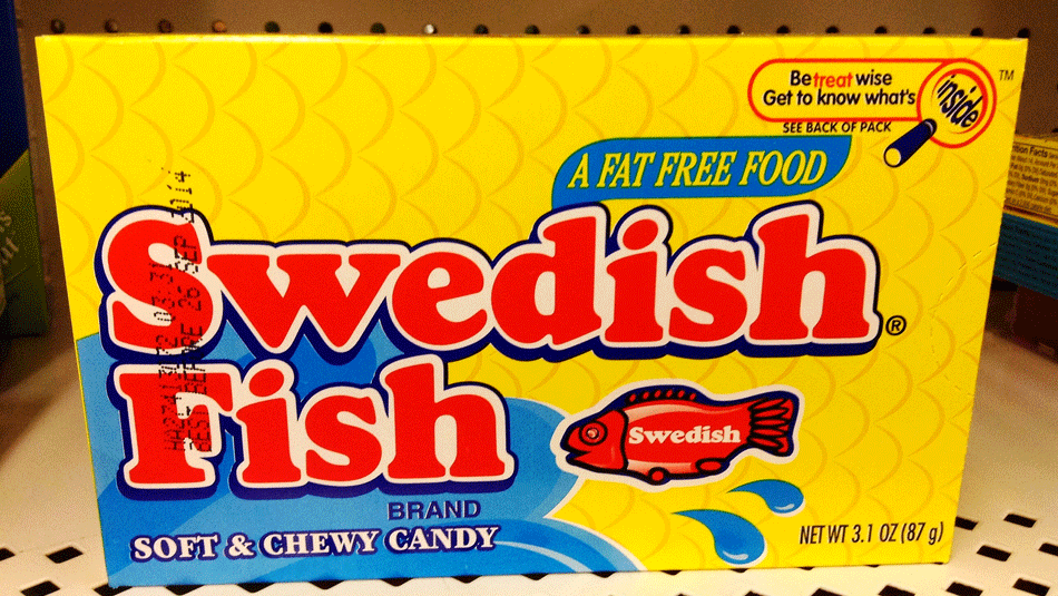 Swedish fish 11 fun facts we bet you didn 39 t know for Swedish fish in sweden