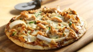 BBQ Chicken Grilled Flatbread Pizza