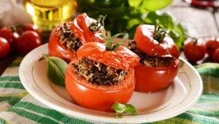 Texas Stuffed Tomatoes