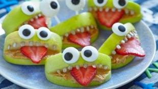 Apple Monster Snacks