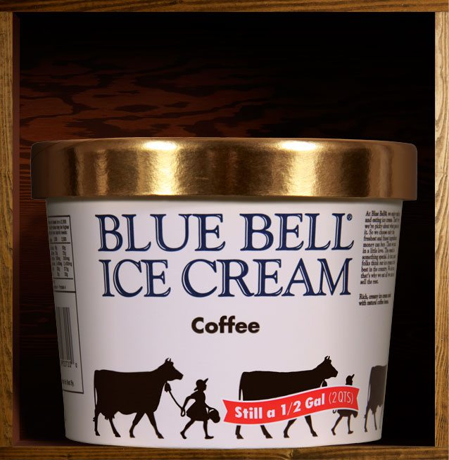 Blue Bell Coffee Ice Cream