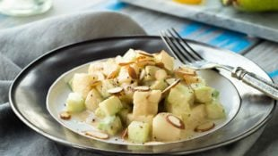 Cucumber and Pear Salad