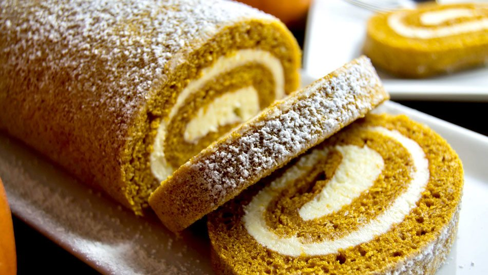Pumpkin Swiss Roll