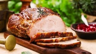 Honey Dijon Roasted Pork Loin