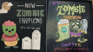 Starbucks is Bringing the Zombie Frappuccino to Stores This Halloween