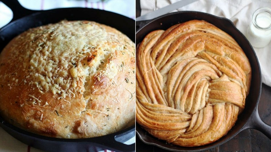 Cast-Iron-Skillet-Bread