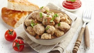 Green Chili Meatballs