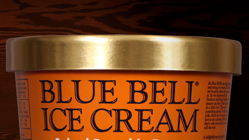 Blue bell tin roof seasonal for Christmas cookie blue bell ice cream