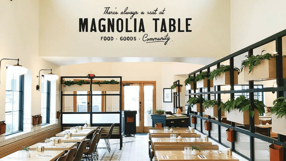 Chip And Joanna Gaines Waco Restaurant Is Officially Open - Magnolia table restaurant