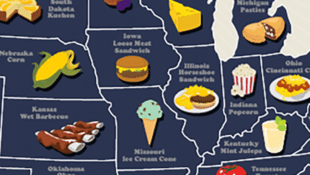 The Map of Every State's Best Local Food
