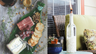 Reuse Those Old Wine Bottles with These 10 Decorative DIYs