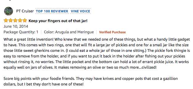 Pickle Fork Reviews