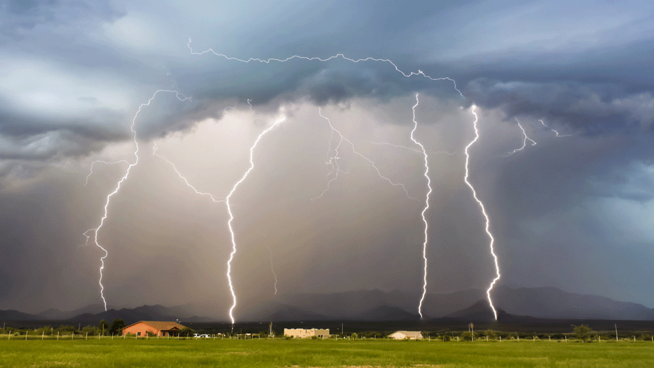 shower-during-storm