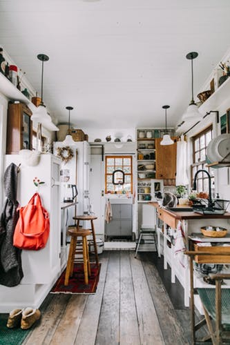 Make And Take Room In A Box Elizabeth Farm: The 11 Tiny House Kitchens That'll Make You Rethink Big