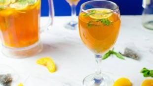 Peach Sweet Tea Sangria