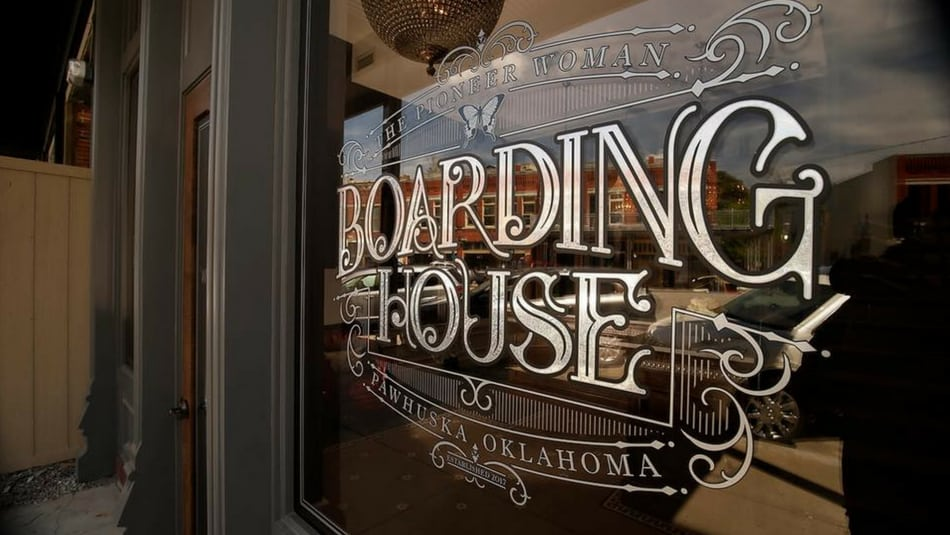 the pioneer woman boarding house
