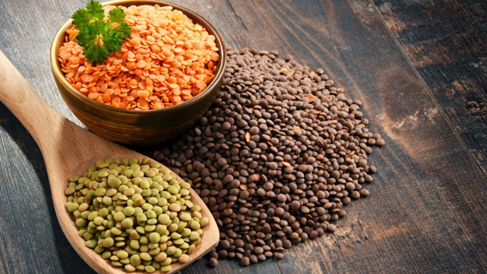 the 5 different types of lentils and how to cook with them