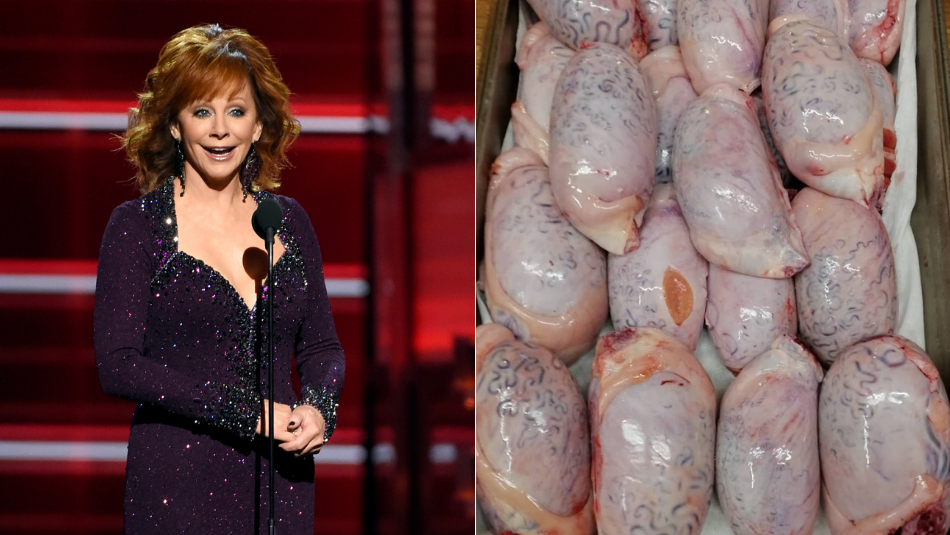Reba McEntire Rocky Mountain Oysters