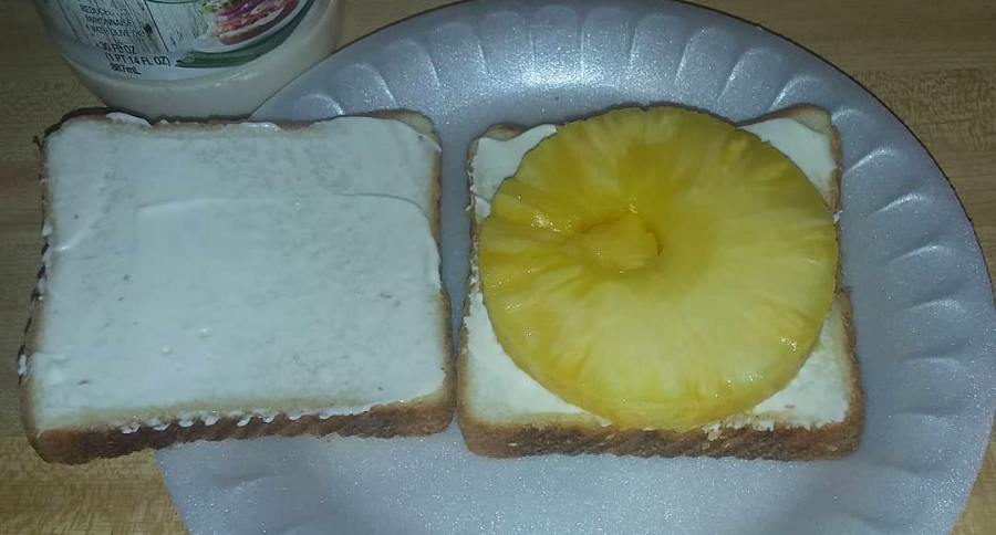 southern pineapple sandwich