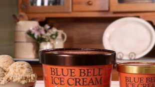 Blue Bell Introduces New Salted Caramel Cookie Ice Cream
