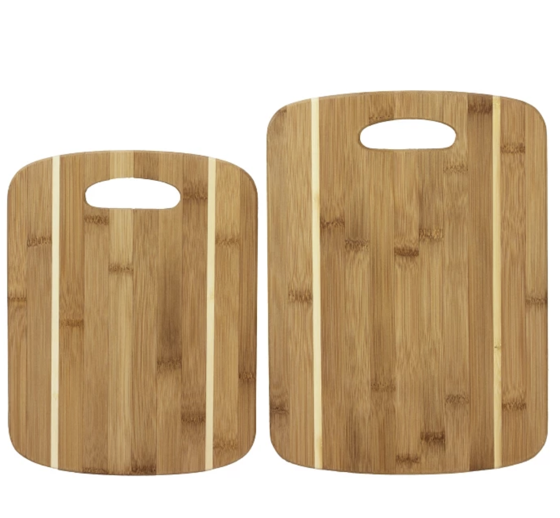 Totally Bamboo Cutting Board 2pk target circle deal