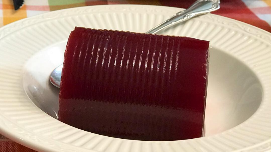 Canned Cranberry Sauce is America's Least Favorite Thanksgiving Food, According to Recent Survey