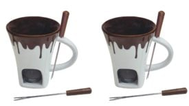 Fondue Mugs Are Perfect for Making Quick Snacks From Your Living Room