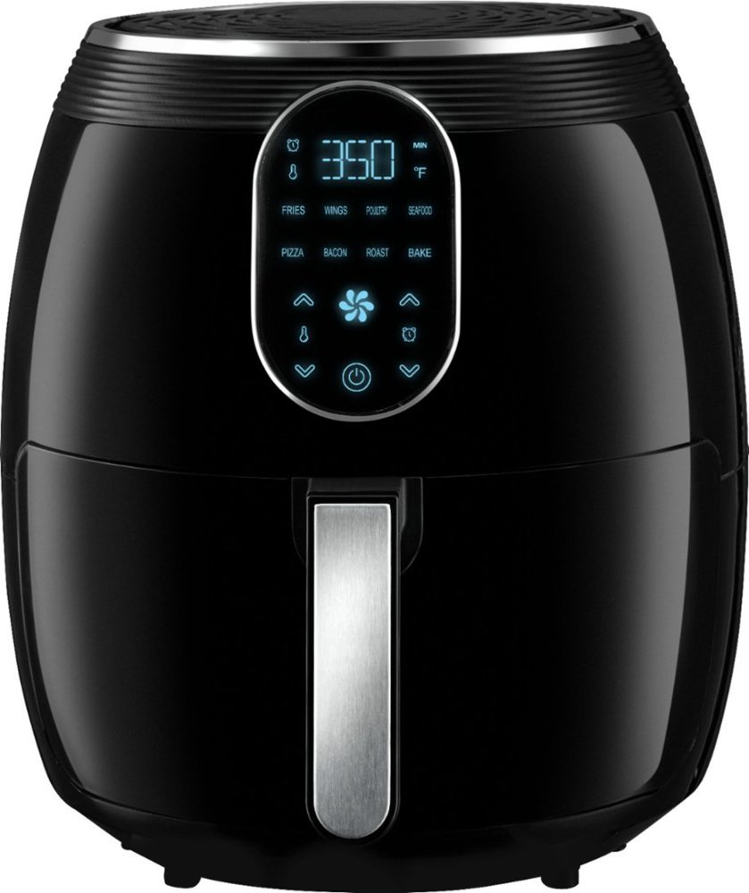 Gourmia - 7qt Digital Air Fryer - Black