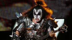 KISS Frontman Gene Simmons Puts Ice Cubes in Cereal