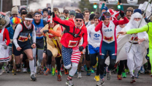 The Krispy Kreme Challenge Requires Participants to Eat 12 Donuts While Running 5 Miles
