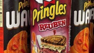 Pringles is Dropping Reuben Flavored Chips, So Get Excited Sandwich Lovers