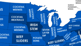 The Most Popular Super Bowl Food in Every State