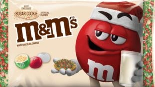 Sugar Cookie M&M's Will Be Here Just in Time for the Holidays