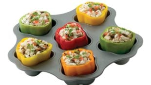This is the Only Baking Pan You'll Need for Making Stuffed Bell Peppers