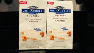 Ghirardelli White Chocolate Caramel Squares Are the Answer to Fancy S'mores