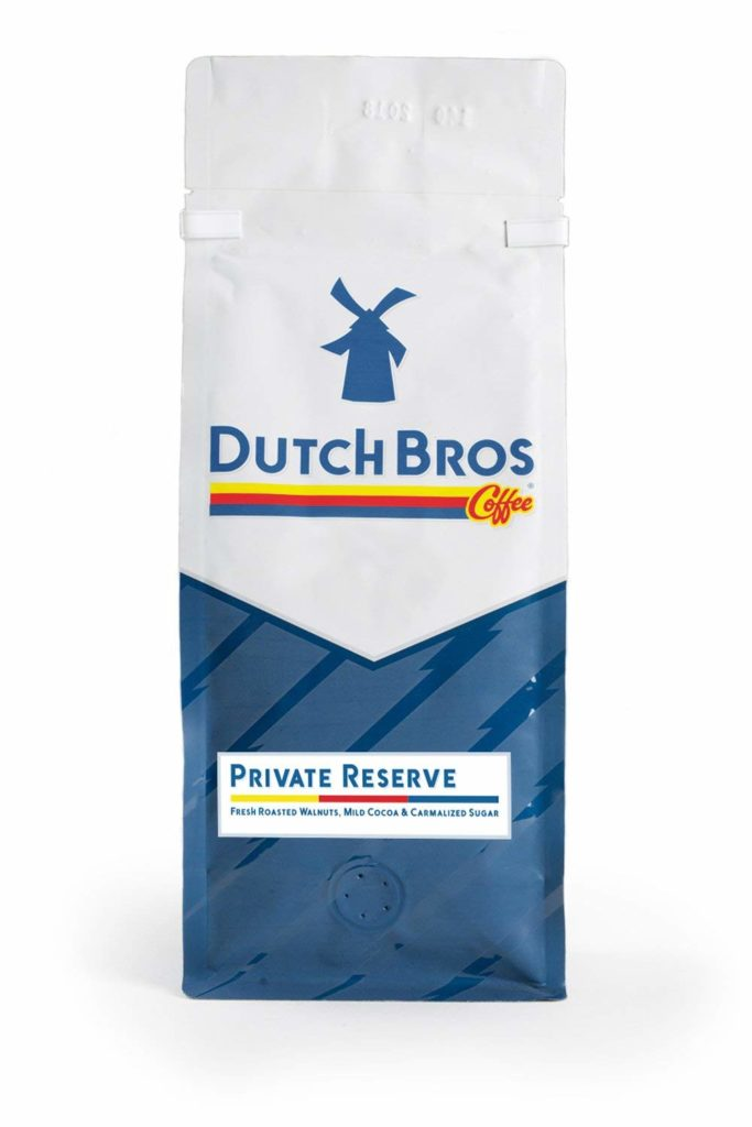 Dutch Bros Coffee Ground Private Reserve Three Bean Blend,